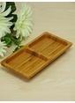 Mizzy Home Bambu 2 Bölmeli Kare Sosluk/Çerezlik Renkli
